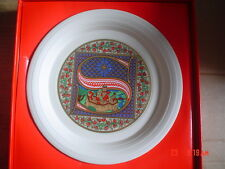 Hornsea Limited Edition Christmas Plate 1987 BOXED