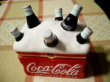 Vintage-looking COCA-COLA ICE CHEST Established 1886. Made in 2002. Clean