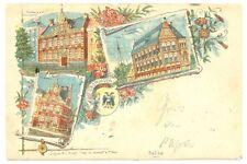 NEDERLAND 1897  AK  GRONINGEN   (LITHO)  FRAAI