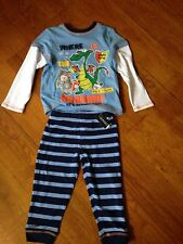 New PJ Where Is The Dragon? Theme Boys Top And Trousers, 2-3 Years By Dunns