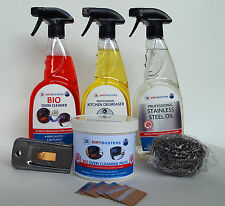 Oven cleaning kit 3, Oven Cleaner 750ml, used by professional oven cleaners safe