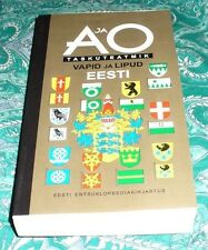 ESTONIAN COAT OF ARMS AND FLAGS BOOK FLAG OF ALL COUNTIES OF ESTONIA