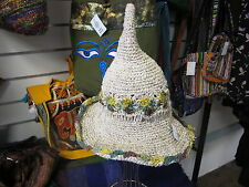WITCH witchypoo  HAT Natural fibres  Nepal handicraft festival