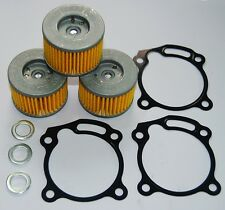 CBR300R CB300F OIL FILTER X3 GASKET X3 CRUSH WASHER X3 2014-16 GENUINE REG DELIV