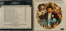 OPERETTENRECITAL MIT BERND WEIKL ORF KURT EICHHORN CD ALBUM (e1891)