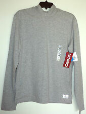 VANCOUVER 2010 OLYMPIC HBC Gray Hooded Long Sleeve Shirt Mens Size SMALL NWT