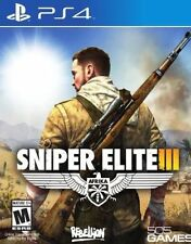 New Sniper Elite III 3 Ultimate Edition (PS4, Playstation 4) Sealed US ENGLISH