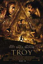 TROY Movie POSTER PRINT B 27x40 Brad Pitt Eric Bana Orlando Bloom