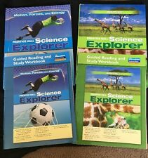 Prentice Hall Science Explorer -Motion, Forces And Energy and Animals Homeschool