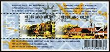 NETHERLANDS MNH 2001 MS2138 150TH ANV NETHERLANDS STAMPS (2ND SERIES) MINISHEET
