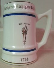 -vintage-1964-northern-michigan-college-commemorative-collectors-mug-stein