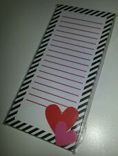 Target One Spot Love Heart Magnetic Note Pad