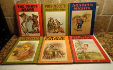 1922 SAALFIELD Lot 6 Children Books CINDERELLA-Robinson Crusoe-FRANCES BRUNDAGE