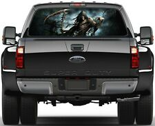 Death  Trees Grim Reaper Version 2 Rear Window Graphic Decal Truck SUV