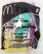 2002 McDonald's Vintage Happy Meal Inspector Gadget 2 Dr. Claw's Claw MIP C10!