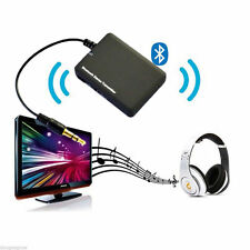 Wireless Bluetooth Transmitter USB AUX A2DP 3.5mm Stereo Audio Adapter f/Headset