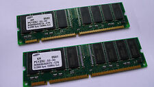 1GB 2 x 512MB Samsung Chip Brand SDRAM PC-133 16-Chip 168-Pin Memory Module Ram