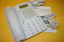 SIEMENS AT600 FULL FEATURE ANALOGUE DESK OFFICE PHONE WHITE NEW BOXED      fbe3j