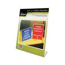 Nu-Dell Clear Plastic Sign Holder - 35485Z