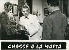 JEAN SERVAIS CHASSE A LA MAFIA 1963 PHOTO D'EXPLOITATION ORIGINALE #1
