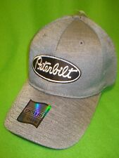 PETERBILT HAT:    CHAMBRAY /  FITTED TRUCKERS CAP    *FREE SHIPPING IN U.S.A. *