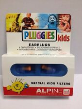 Alpine Pluggies Ear plugs Kids for Swimming-Cheapest Price on eBay