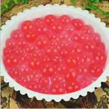 NEW 600pcs Red Crystal Soil Gel Jelly Ball Water Pearls Wedding Home Decor ZL1