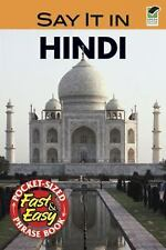 Say It in Hindi (Dover Say It Series)