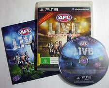 AFL Live GOTY Game Of The Year Edition for PS3 - complete - great cond. - posted