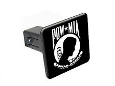 "POW MIA - 1 1/4 inch (1.25"") Trailer Hitch Cover Plug"