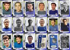 Chelsea 1965 Football League Cup final winners trading cards