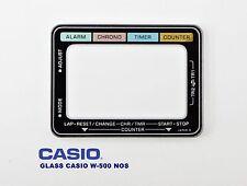 VINTAGE GLASS CASIO W-500 NOS