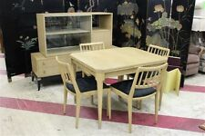 Vintage 50's Modern Table with Chairs by Renzo Rutili for Johnson Co Eames Era