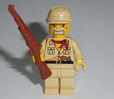 """ARMY/WAR Lego """"Japanese Soldier"""" w/Rifle NEW WWII -ba- Kepi"""