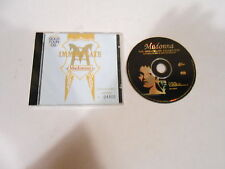 MADONNA-IMMACULATE COLLECTION-COLLECTORS EDITION GOLD CD NUMBER 04406-AUSTRALIA