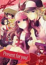 Pokemon Black and & White Doujinshi Dojinshi Comic N x Hilda Present for you!
