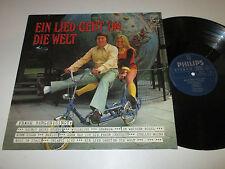 LP/FRANK BERGEN/EIN LIED GEHT UM DIE WEL/Philips 6387023/mit Autogramm/ SIGNIERT