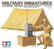 Conjunto de la tienda (con Wehrmacht/Deutsche Afrika Korps radiooperator) #35074 1/35 Tamiya