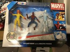Marvel Toys R Us exclusive Spider-man and his Amazing Friends 3 pack figures