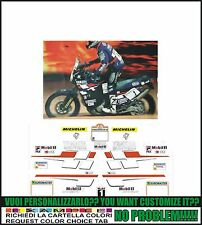 kit adesivi stickers compatibili  xtz 750 super tenere 1998 peterhansel dakar