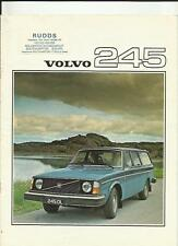 VOLVO 245  SALES BROCHURE 1976