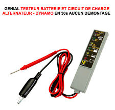 GENIAL! TESTEUR BATTERIE ALTERNATEUR! DIAGNOSTIC BATTERIE ALTERNATEUR EN 1MN!
