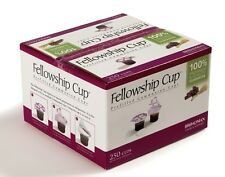 BRAND NEW -COMMUNION FELLOWSHIP CUP PREFILLED JUICE / WAFER  BOX OF 250