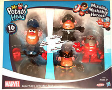Mr. Potato Head Marvel Mixable Mashable Heroes Super Hero Collector Pack