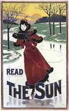 A4 photo rhead Louis 1858 1926 le soleil 1895 imprimé Poster