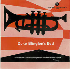"Rex STEWART SEPTETT - Duke Ellington's Best / 60er BERTELSMANN 7"" EP - Single !"