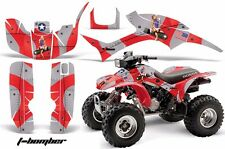 AMR Racing Honda TRX 300 Graphic Kit Wrap Quad Decal ATV 1993-2006 T-BOMBER RED
