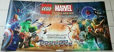POSTER PLV STICKER GEANT 2M/1M LEGO MARVEL SUPER HEROES