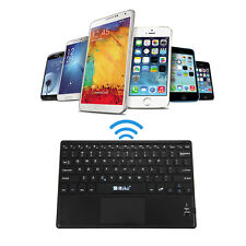 "10""Clavier iRULU Wireless Bluetooth Touchpad Keyboard for Windows Android Tablet"