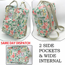 Flower Floral Grey Bag - Everyday Travel Beach Holiday Picnic Gym Park Backpack